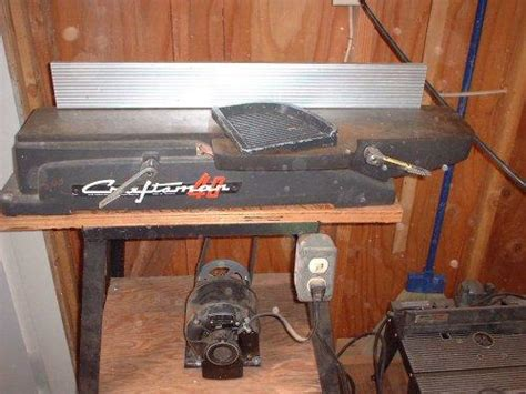 photo index sears craftsman  jointer