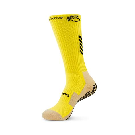 Yellow Grip Socks - Used By Pro Athletes Across The Globe
