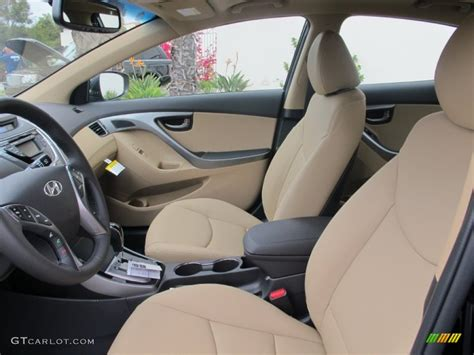 There are cars that are simply better than they have to be. Beige Interior 2013 Hyundai Elantra Limited Photo ...