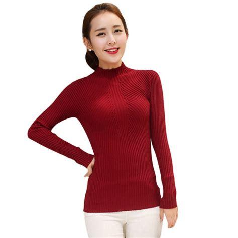 turtleneck blouse winter slim turtleneck sweater tops casual knitwear