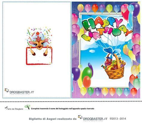 happy birthday cartoline  biglietti  il compleanno