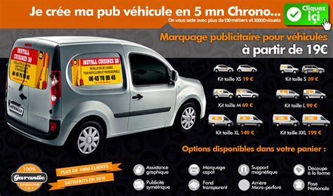 publicité adhésive marquage publicitaire pour véhicule