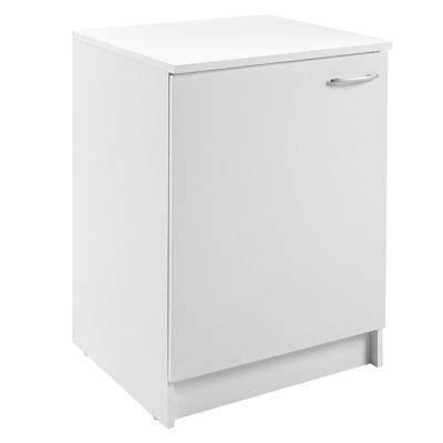 cuisine primalight meuble de cuisine bas 1 porte 60 cm blanc primalight 3
