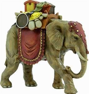Figuren Für Schneekugeln : krippenfiguren tiere elefant mit gep ck f r figuren 17 cm ~ Frokenaadalensverden.com Haus und Dekorationen