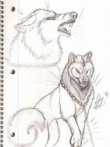 Snarling Wolf by Fellixe on DeviantArt
