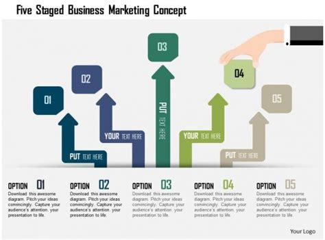 staged business marketing concept powerpoint