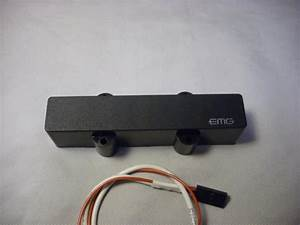 Emg 5 String Jazz Bass Pickup  Active  With Solderless