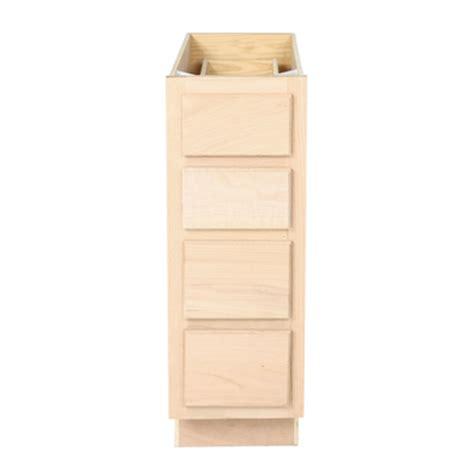 unfinished bathroom vanity drawer base cabinet 12 quot