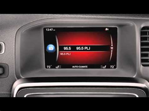 volvo sensus connect  voice control youtube