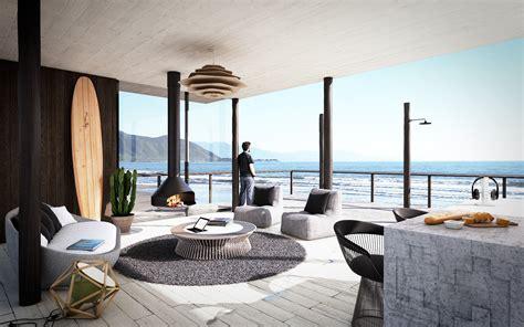 beach house design  britain called  kench