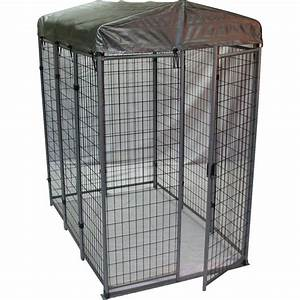 options plus 6 ft x 4 ft x 6 ft outdoor dog kennel box kit With outside dog kennels lowes