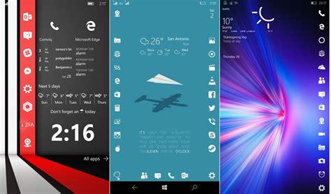 Windows 10 Mobile Start Screen Vs. Ios Home Screen