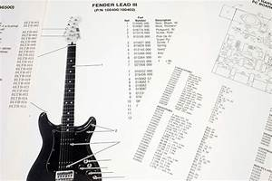 Fender Squier Bullet  265595   1984  Parts List  Photo