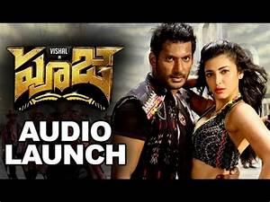 Pooja (Poojai) Movie Audio Launch Full Video || Vishal ...  Poojai