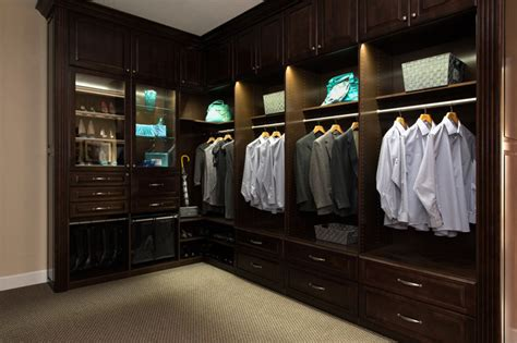 campbell showroom closet  led lighting traditional