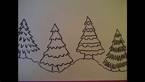 Schöne Muster Zum Selber Malen : 4 m glichkeiten einen weihnachtsbaum zu zeichnen weihnachtskarten selber malen youtube ~ Orissabook.com Haus und Dekorationen