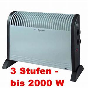 Heizlüfter 2000 Watt : heizl fter elektroheizung 2000 watt heizung konvektor ~ Whattoseeinmadrid.com Haus und Dekorationen