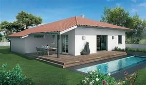 modele maison lacanau maisons sanem constructeur de With site de plan de maison 11 terrasse