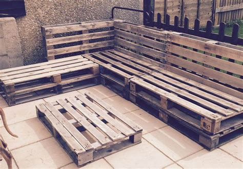 outdoor pallet sectional sofa easy pallet ideas