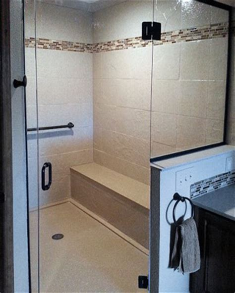 neo angle shower walk in shower and bathtub replacement gallery