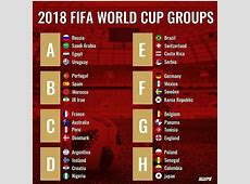 2018 FIFA World Cup Fixtures and Wall chart Breaking Event