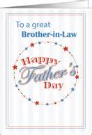 fathers day cards  brother  law  greeting card