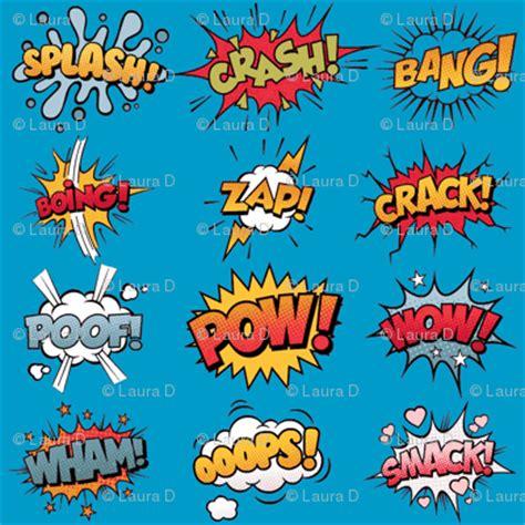 zap wham pow comic book rumble poof wham splash boing pow zap