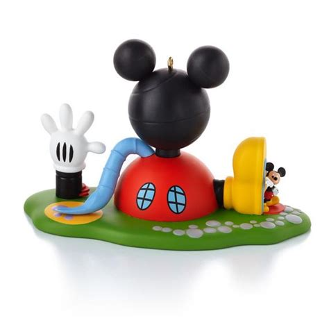 mickey mouse clubhouse hallmark christmas ornament