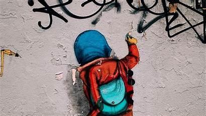 Graffiti Wall Street Background 1080p 1080 1920