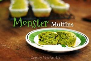 Monster Muffins Crunchy Mountain Life