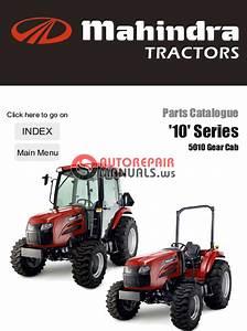 Mahindra Tractor 10 Series 5010 Gear Cab Parts Manual