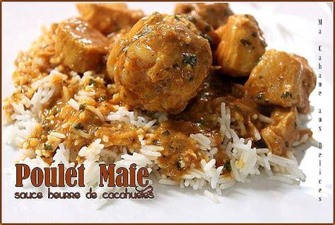 recette de cuisine africaine malienne poulet mafé sauce dakatine recettes faciles recettes