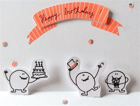geburtstag popup karte diy happy birthday greeting popup