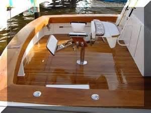 diy refinishing a teak deck blair boat carpentry