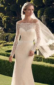 chic vintage lace off the shoulder wedding dresses ipunya With lace off the shoulder wedding dress