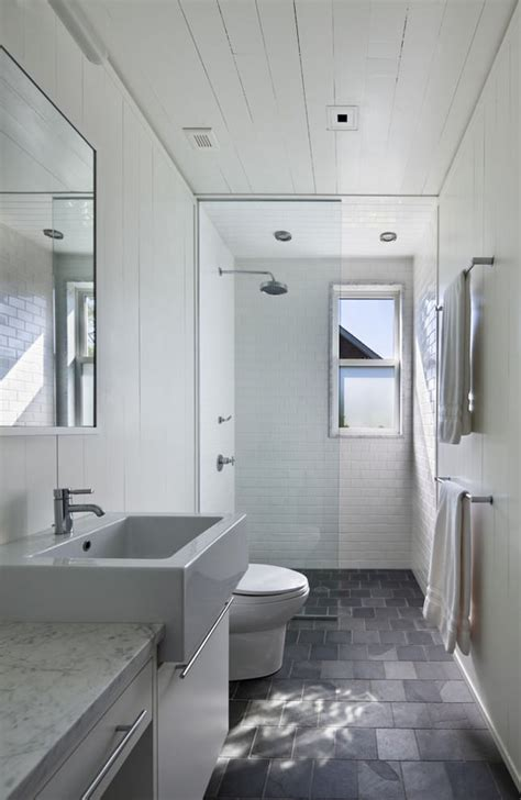 25 narrow bathroom designs decorating ideas design
