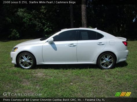 white lexus is 250 2008 starfire white pearl 2008 lexus is 250 cashmere beige
