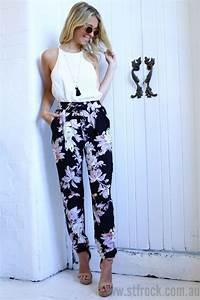 25+ best ideas about Floral pants outfit on Pinterest | Floral pants Floral jeans outfit and ...