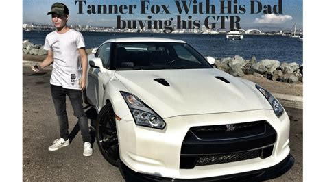 tanner fox gtr tanner fox get s gtr dad s version