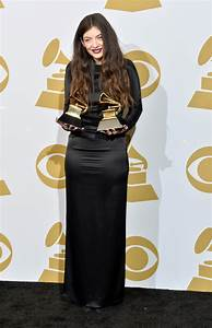 Lorde Photos Photos - Press Room at the Grammy Awards - Zimbio