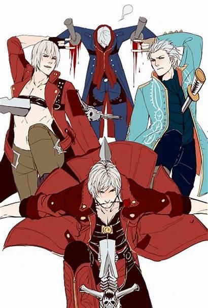 Devil Cry Zerochan Vergil Dante Mobile Nero