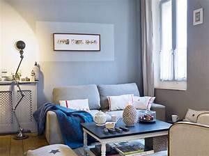 Une maison couleur du ciel elle decoration for Good meubles pour petit appartement 11 decoration salon avec tomettes