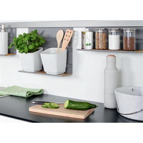 barre support cuisine pot range couverts pour barre de crédence kesseböhmer