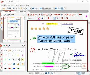 screen shots pdf annotator With software to annotate pdf documents
