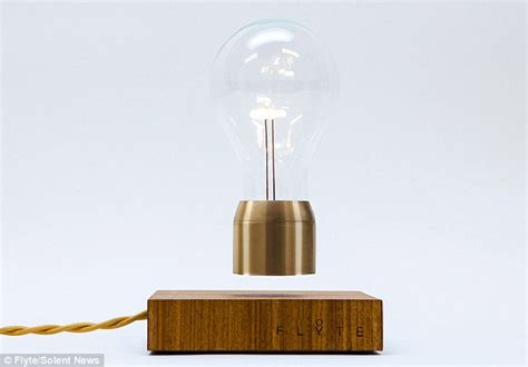 floating light bulb wireless flyte lightbulb levitates and lasts up to 22
