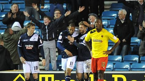 Millwall dealt Watford's promotion bid another blow with a ...