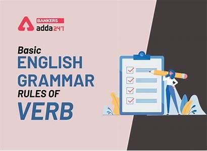 Grammar Rules English Basic Verb