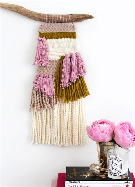 woven wall hanging diy crafts handimania