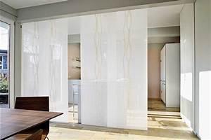 Vorhang Für Regal : raumteiler vorhang wei mit schiebegardinen ~ Michelbontemps.com Haus und Dekorationen