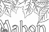 Mabon Coloring Bos sketch template
